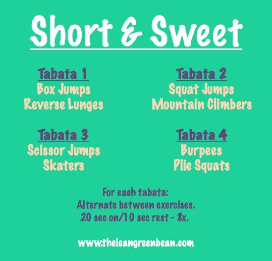 shortandsweet Fitness Friday 33