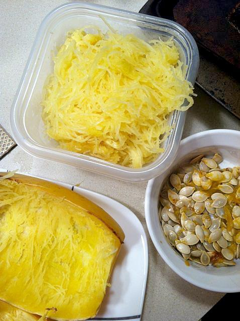 spagsquash5 3 Ways to Cook Spaghetti Squash