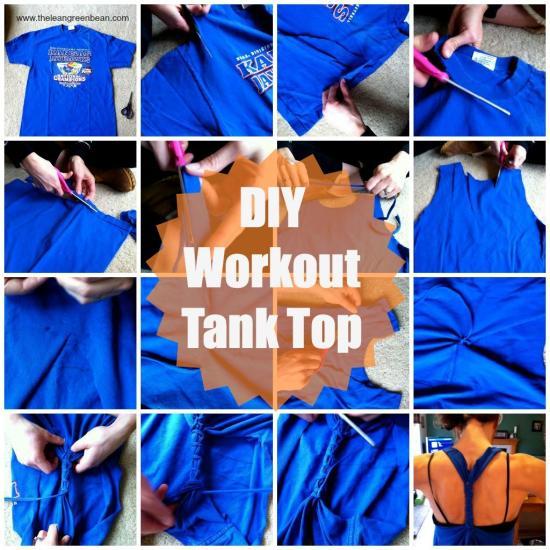 diy workout tank top 1 DIY Workout Tank Top