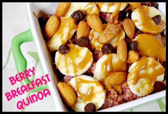 quinoa21 e1373308712447 10 More Healthy Breakfast Ideas
