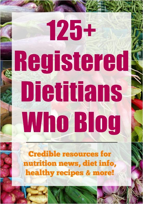 Registered Dietitians Who Blog