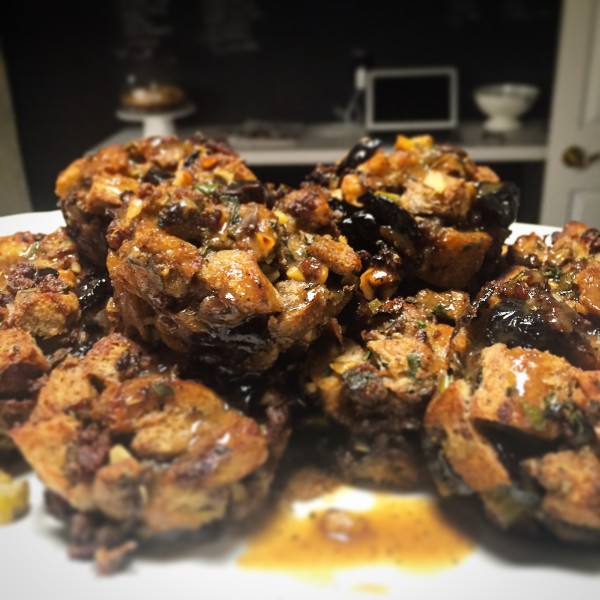 spicy italian sausage stuffing