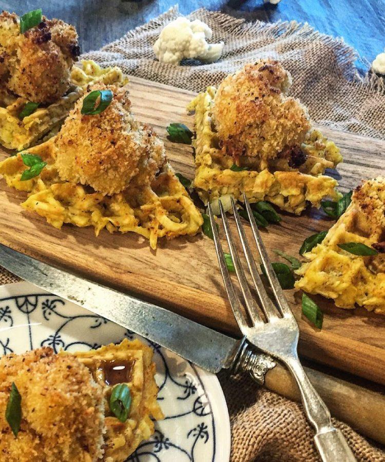 Cauliflower and Waffles