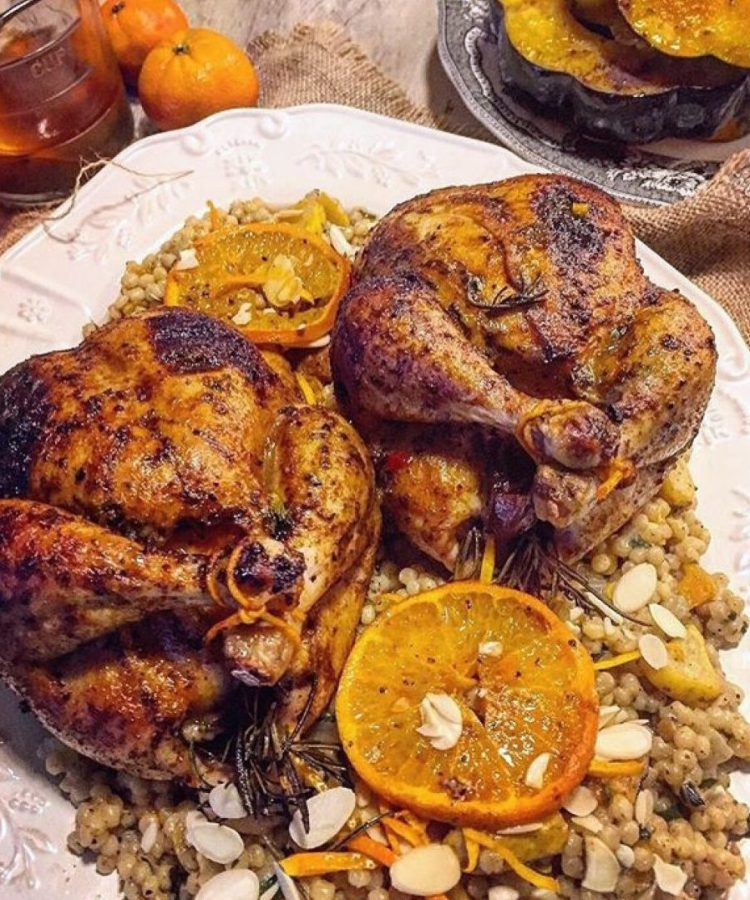 Harissa Cornish Hens