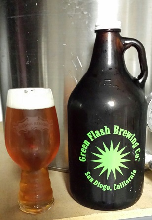 Green Flash Growler of 30th St. Pale Ale