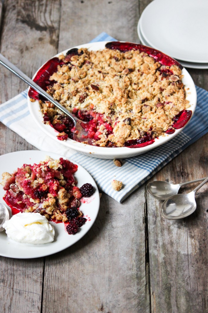 ... , crumble topping, blackberry crumble, blackberry and apple crumble