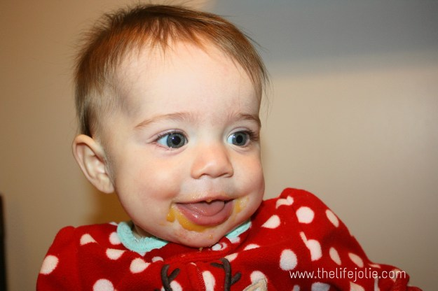 Starting Solids- Week 10 Progress | The Life Jolie