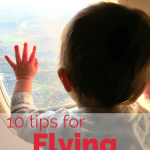 10 tips for flying with a baby