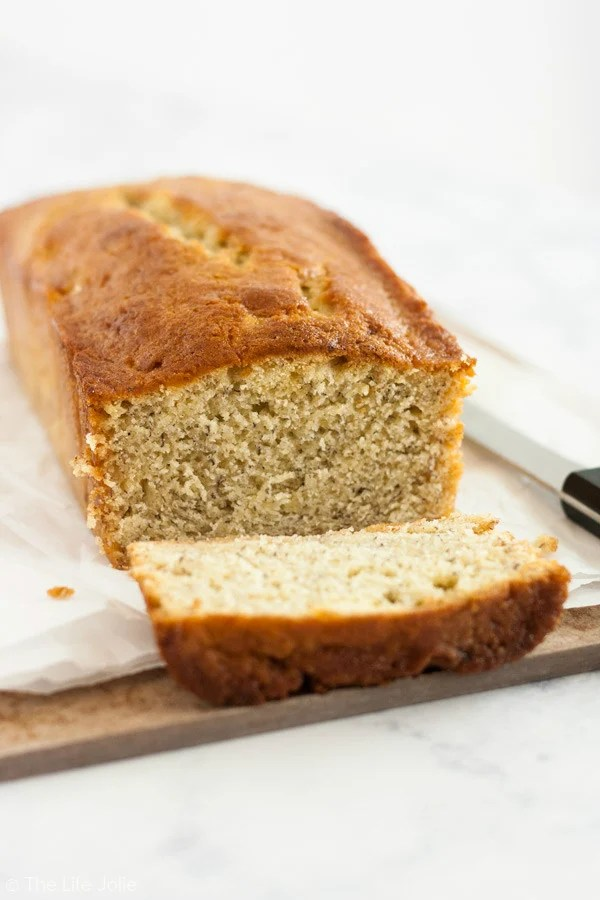This family recipe for banana bread is so quick and easy to put together and the results are the most delicious, moist banana bread you'll find anywhere! Click on the photo to get the recipe.