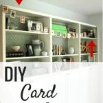 DIY Card Garland