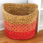 DIY Ombre Basket (a Land of Nod Knock Off!)
