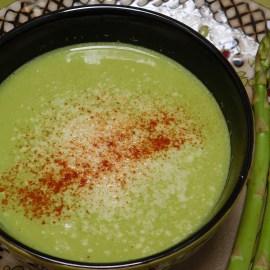 Asparagus Soup, Vegan