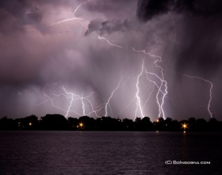 """James """"Bo"""" Insogna, of Longmont, specializes in lightning photography. Check out more of his lightning-strike photos at <a href="""