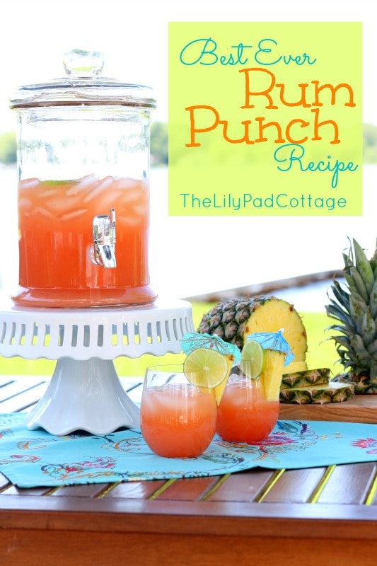 Paleo Caribbean Rum Punch