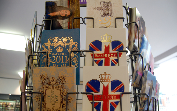 Paperchase Royal Wedding Postcards