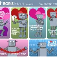 Robot of Leisure - Robot Valentine's Day