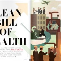 Wealth Management Magazine Illustration