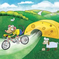 Tour De France illustration: Let them eat Cheese