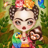 Frida Querida Illustration