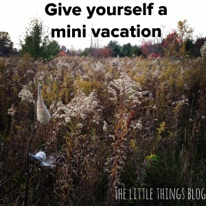 Give Yourself A Mini Vacation