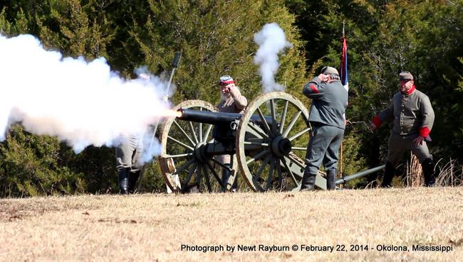 The Civil War Battle of Okolona, Mississippi - Sesquicentennial - Photographs by Newt Rayburn - February 22, 2014