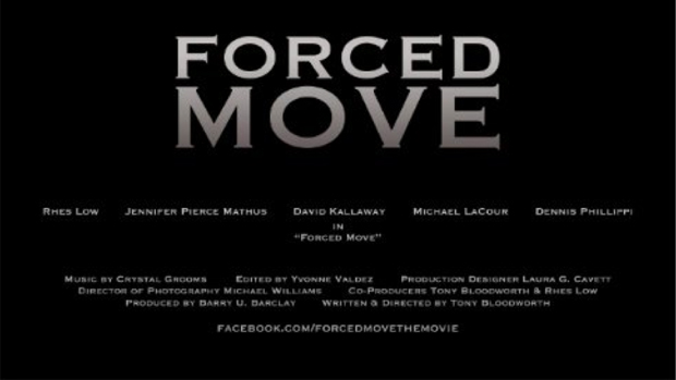 "Oxford Film Fest Movie Spotlight: Interviews with ""Forced Move"" Director Tony Bloodworth, and Lead Actors Rhes Low & Jennifer Pierce Mathus"