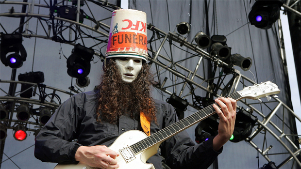 Buckethead Maintains Signature Guitar Style and Anonymity