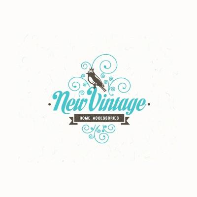 New Vintage Logo   Logo Design Gallery Inspiration   LogoMix