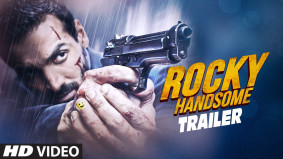 theatrical trailer of Bollywood actor John Abraham's forthcoming film Rocky Handsome is out and has gripped the audience with its bone-crunching stunts.