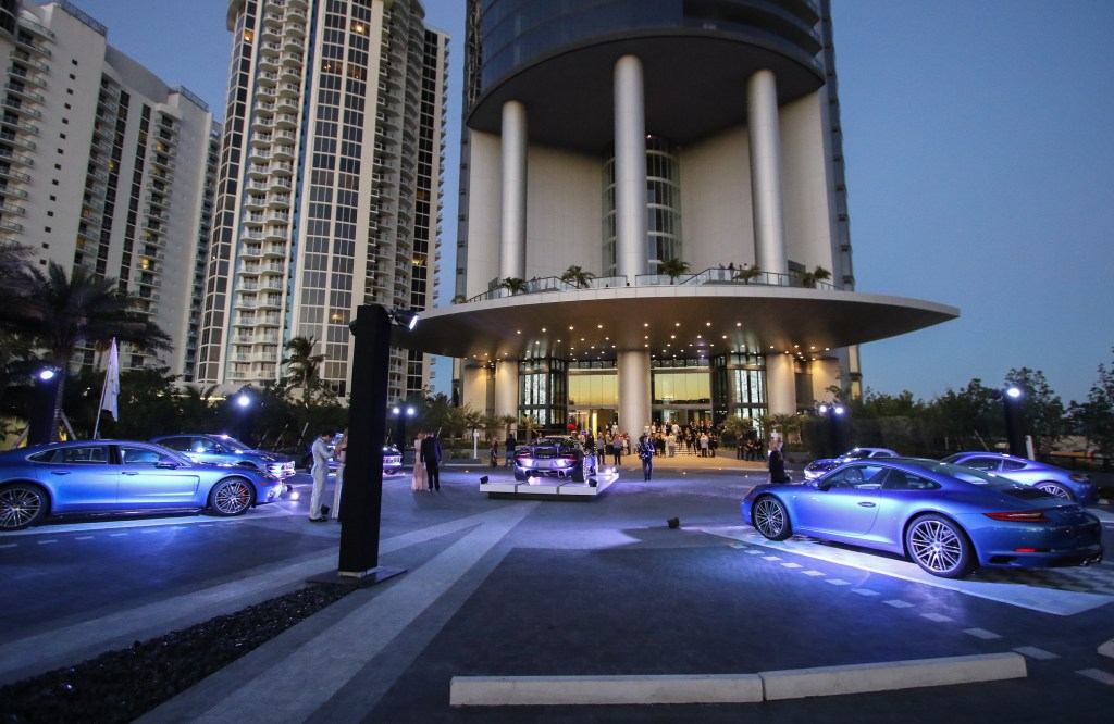 Grand Opening of first-of-its-kind Porsche Design Tower Miami