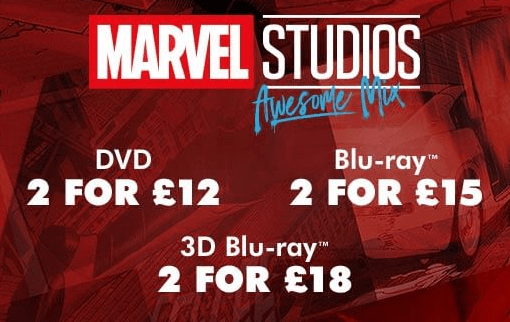 ZAVVI MARVEL OFFER