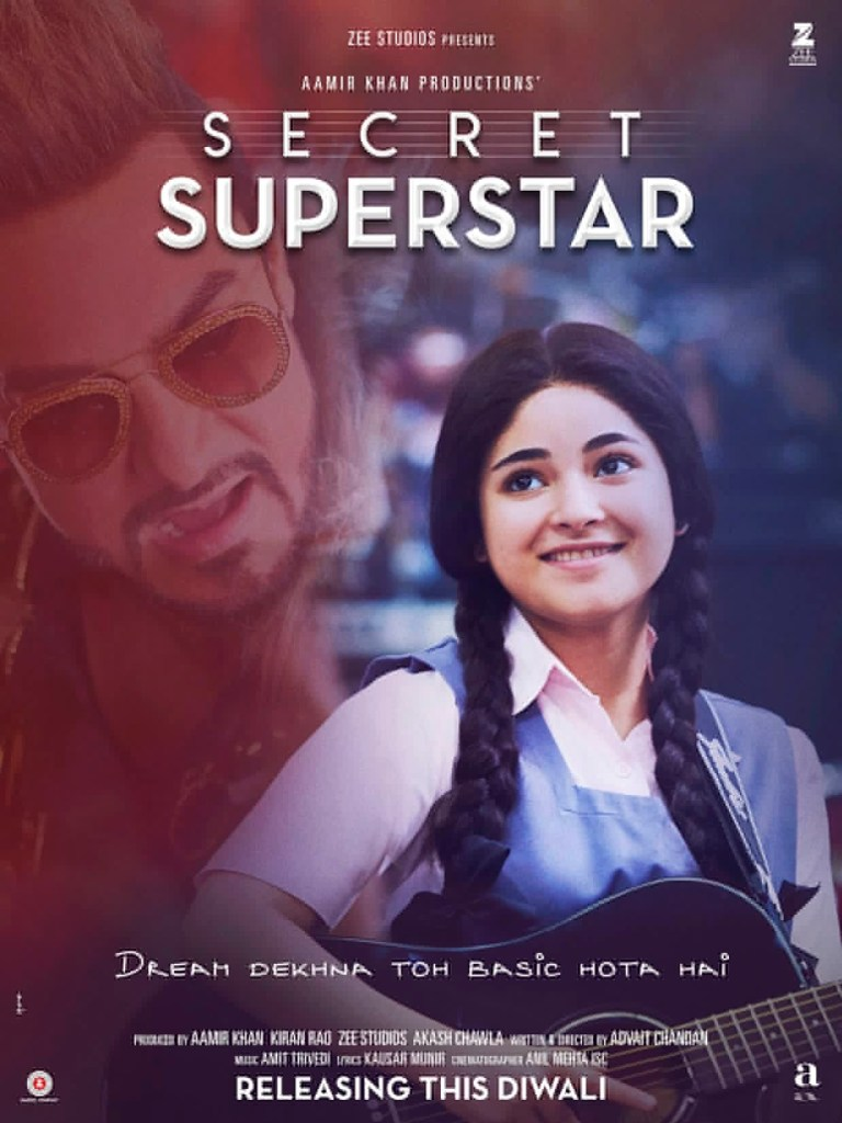 Aamir Khan Launches trailer Of Secret Superstar
