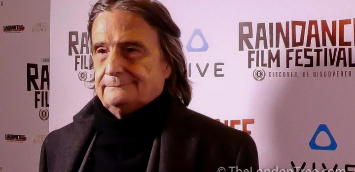 Jean Pierre Leaud Introduces M At The 26th Raindance Film Festival 2018