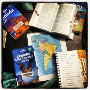South America Trip Planning