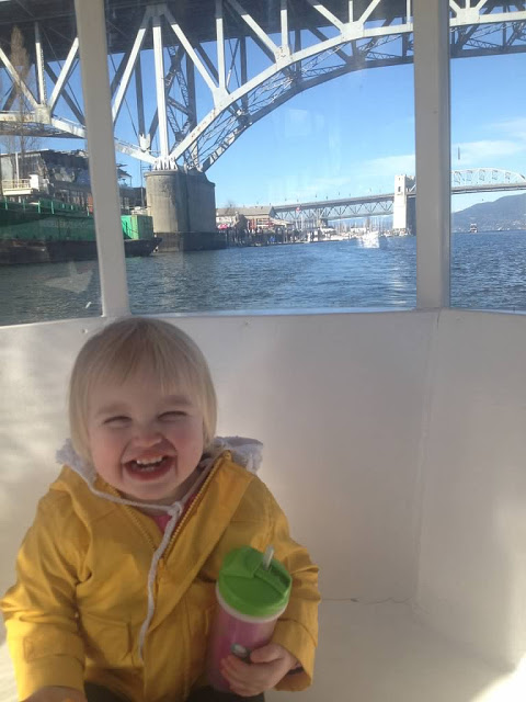 Free Boat Ride From Granville Island? Like taking candy from a baby... (Vancouver, Canada)