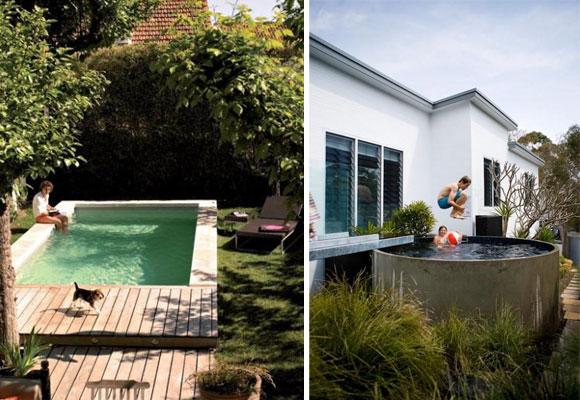 C mo tener una piscina en un patio peque o the for Piscinas en patios muy pequenos