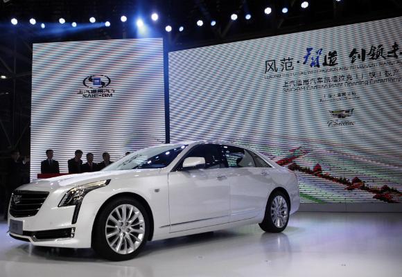 cadillac presentación coche china