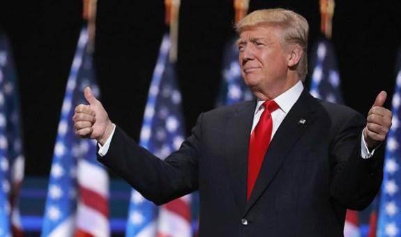 Solo trajes oscuros en el gobierno de Donald Trump