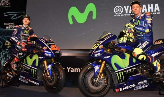 Rossi y Viñales, a por el triunfo en Moto GP