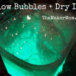 Glow Bubbles and Dry Ice: a cool combo