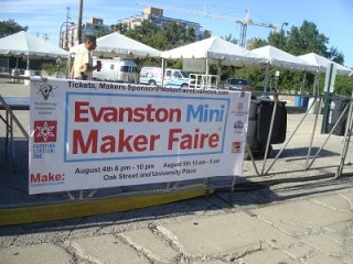 Mini-Maker Faire Evanston, IL