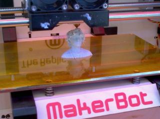 Mini-Maker Faire Evanston, IL 3D printer MakerBot