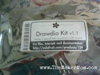 Drawdio Kit unassembled in package