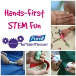Hands-First STEM Fun with PURELL Advanced Hand Sanitizer
