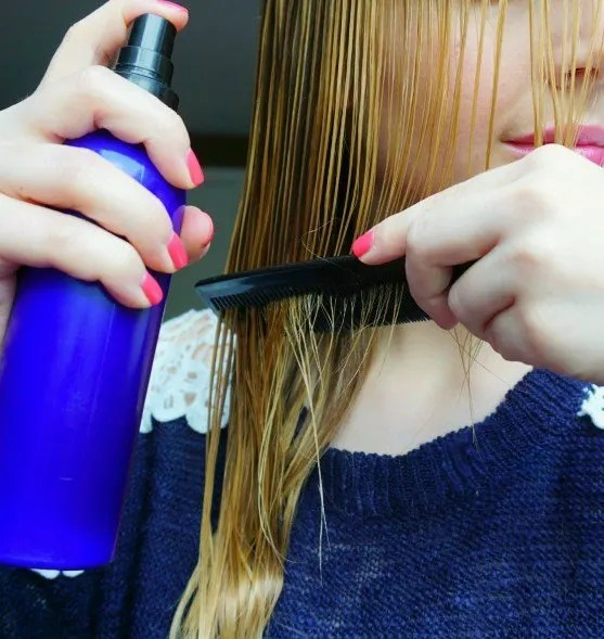 DIY Detangling spray The Makeup Dummy