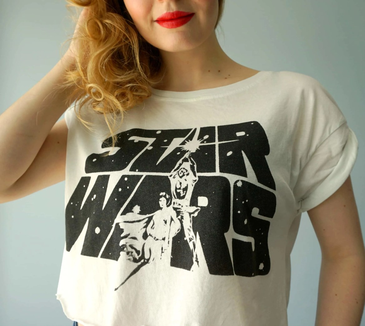 Star Wars Print Shirt DIY | Tutorial by The Makeup Dummy