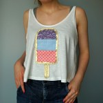 Tutorial on How To make your own cute customized Ice Cream Lollipop Shirt! DIY by The Makeup Dummy