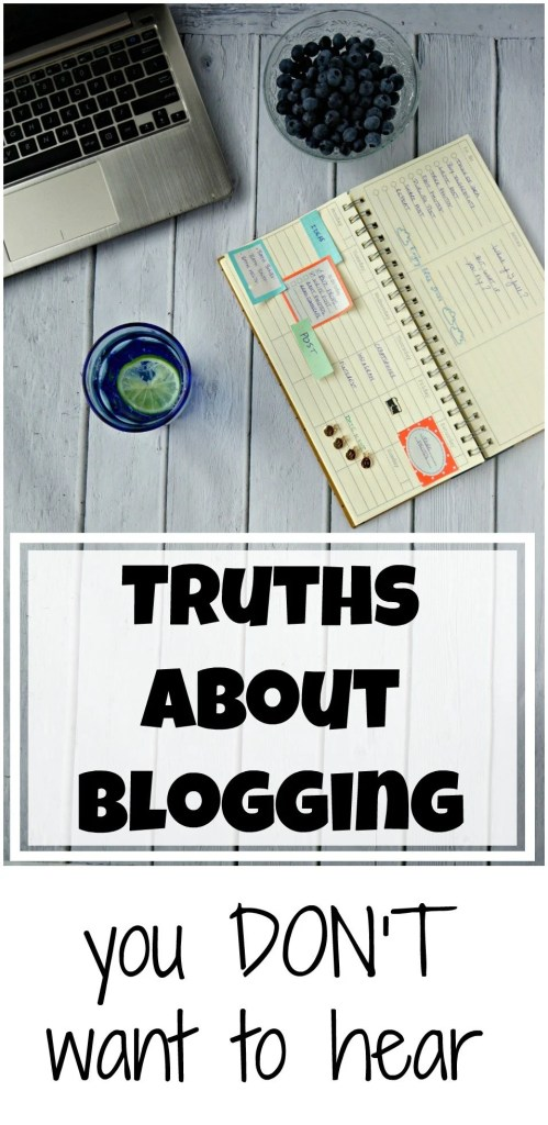 4 truths about blogging you don't want to hear. Tips and advice by The Makeup Dummy