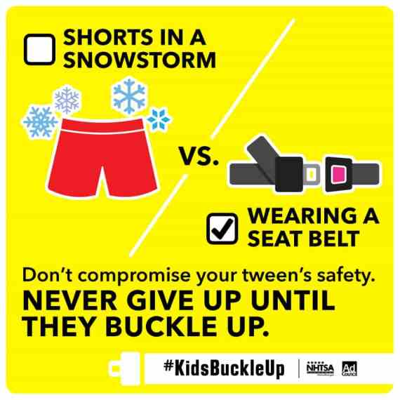 The Minivan Should Not Be a Battlefield – Buckle Up for Tween Seat Safety #KidsBuckleUp @themamamaven