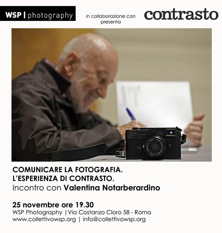 Comunicare la fotografia: l'esperienza di Contrasto
